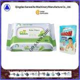 Máquina de embalagem automática de lavagem de alta velocidade horizontal da espuma Swsf-450