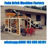 Máquina de fabricação de tijolos do bloco de tecnologia da Alemanha de máquinas Fuda