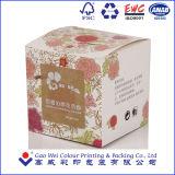 Rectángulo de empaquetado del regalo cosmético del papel de la fuente de la fábrica