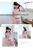 Des filles costume Sport à manchon long (T-shirt+ pantalon) Vêtements d'enfants