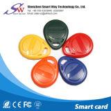 접근 제한 13.56MHz MIFARE 1K PVC Keychain