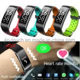 Le suivi de remise en forme étanche Bracelet Bracelet Bluetooth Smart Q8