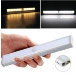 Palo en cualquier lugar portátil LED del movimiento del sensor LED de luz de emergencia, sensor de movimiento LED de emergencia con el interruptor del sensor del tacto