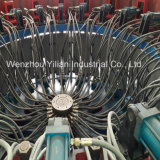 Macchina di modellatura di TPR del PVC di sicurezza dell'iniezione automatica completa del pattino