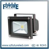 Lámpara de inundación de la MAZORCA 50W LED de IP65 100lm/W con el Ce RoHS