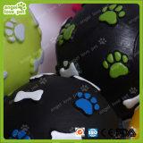 Hundevinylquietschendes Kugel-Spielzeug, Haustier-Spielzeug