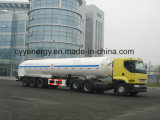 ASME GB를 가진 화학 Liquid Oxygen Fuel Tanker Semi Trailer