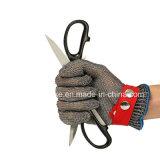 Вырезать из нержавеющей стали жаростойкие перчатки, защитные перчатки