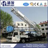 Aparejo de taladro excelente montado carro del receptor de papel de agua de Hft-350b