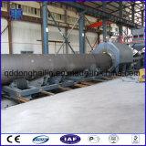 Macchina di granigliatura della parete esterna dei tubi d'acciaio per trattamento preparatorio e la pulitura dei tubi