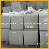 Polished 중국 순수한 백색 /Crystal 백색 대리석 마루 도와