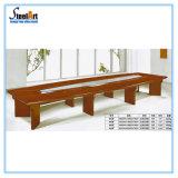 Стол конференции офисной мебели длинний деревянный (FEC 912)