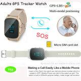 2017 престарелых Часы с GPS Tracker с 2 обмен данными между T58