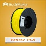 3D 인쇄 기계 Yello 색깔을%s 1.75mm PLA 필라멘트