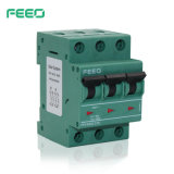 3P Switch fotovoltaicos PV Energia reciclado Disjuntor (FPV DC-63)