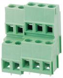 Rising Clamp Type de bloc de bornes PCB avec un pas de 5,0 mm