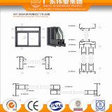 Portello scorrevole resistente di alluminio basso di prezzi 6063t5 della fabbrica cinese