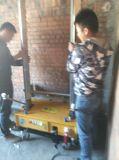 電気リモート・コントロール屋内セメントの煉瓦ブロックの壁のレンダリングプラスター機械