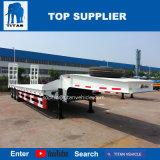 Titaan 3 Aanhangwagen van het Bed van het Platform van de Lading van de Vervoerder van de Machine van Assen 30-90tons de Zware Semi Lage
