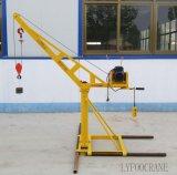 Здания крана конструкции машина миниого высокого поднимаясь