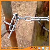 熱い販売によって電流を通される田園農場のゲートのホックの締める物