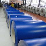 La couleur couché fer galvanisé prélaqué bobine pour toit En acier