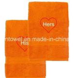 Chinesische Fabrik geben 100% Baumwollgesichts-Tuch, Bad-Tuch an