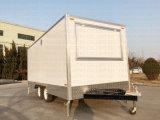 移動式食糧は移動式クレープのカートを運ぶ