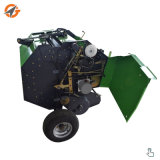 Macchina rotonda della pressa per balle del fieno del rullo dell'erba della paglia del pino di ATV mini da vendere