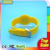 Подгонянный напечатанный логосом браслет Wristband силикона MIFARE классицистический S70 RFID франтовской