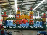 Château gonflable pour le parc d'attractions