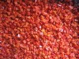 Le paprika rouge surgelé d'IQF Découpe