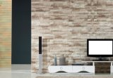 벽돌 침실 또는 거실에서 사용되는 돌 3D 벽지 자동 접착