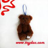 Brinquedo do anel chave do urso de peluche