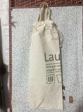 Sac à pain en coton naturel écologique, avec des poignées et des cordons de serrage