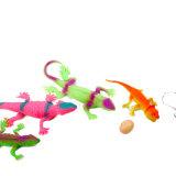 子供のプラスチック恐竜のおもちゃ