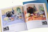 Impression artistique de catalogue pour l'essai d'étudiants