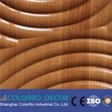 Los paneles de pared de madera materiales de Eco de la decoración de la oficina