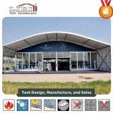 grande tente de 25X50m Arcum avec la porte en verre à vendre