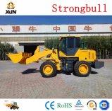 Srtrongbull 건축 기계 로더 2.5 톤 Zl33 바퀴