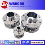 Usinagem CNC de alta precisão Flange de aço carbono galvanizado