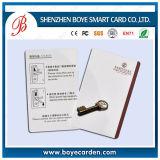 Carte d'ID de PVC pour carte d'employé Re-Printable