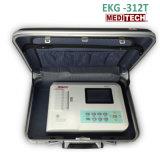 Draagbare Drie ECG met Toetsenbord EKG312t Meditech