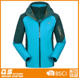 Winter Warm 3 der Männer in 1 Waterproof Jacket