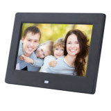 백색 공장 판매 800*480/1024*600 또는 까만 선택적인 7 인치 디지털 사진 프레임