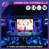 P4.81 Alta luminosidad interior a todo color personalizado LED TV pantalla