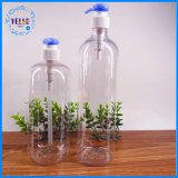 Estetica trasparente della bottiglia di Pegt di alta qualità che impacca con la pompa
