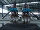 Hölzerne Kopf CNC-Maschine des Fräser-3D multi