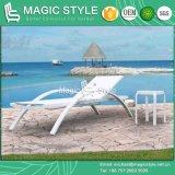 Sling Lounge Textile Sunbed Garden Sunlounger Sling Sunbed Outdoor Sun Bed Garden Daybed (estilo mágico)