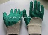 Рабочие перчатки из латекса с покрытием